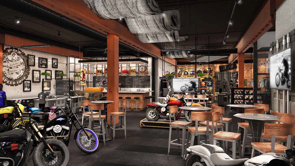 Harley Davidson PDX Speed Shop
